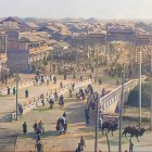 AI brings color to 100-year-old video of old Beijing
