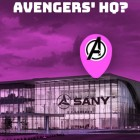 Avengers HQ belongs to a Chinese excavator and bulldozer manufacturer
