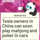 Tesla owners in China can soon play mahjong and poker in cars