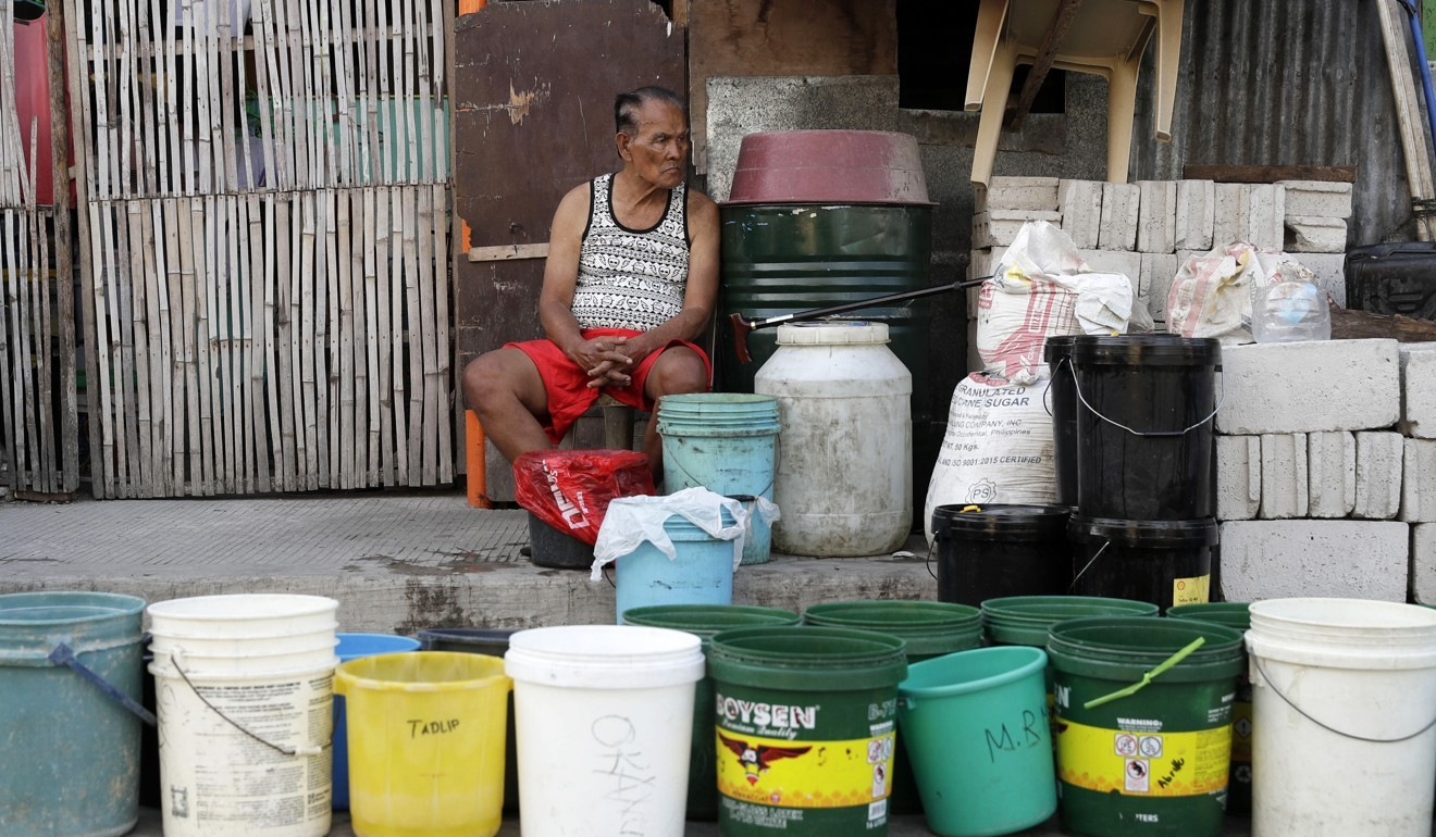 Philippine water shortage hits more than 6 million people in and