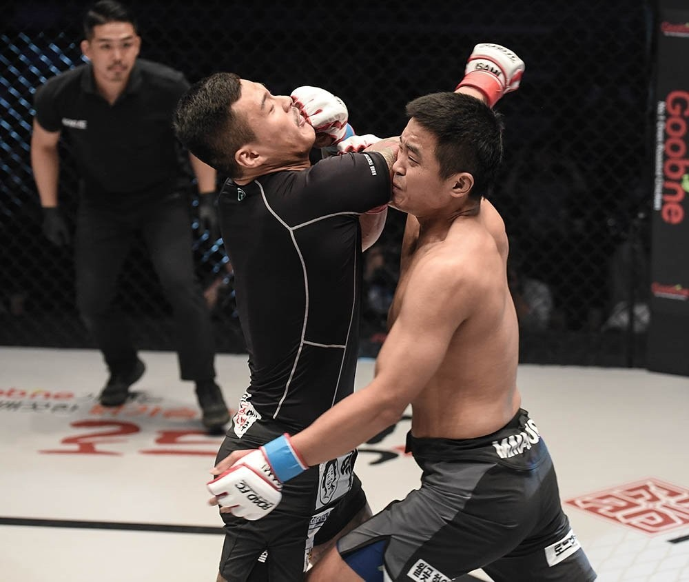Korean MMA fighter Hwang In-soo gets knocked out in five seconds at