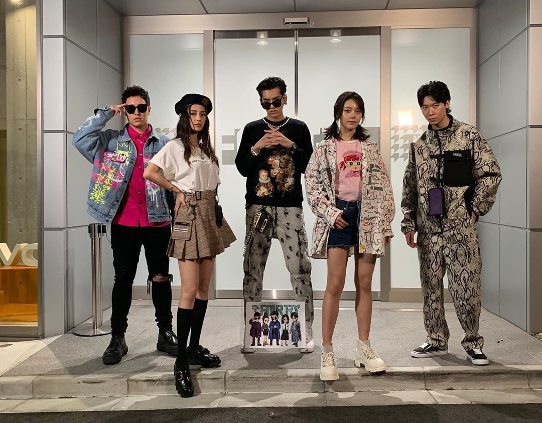 Will Fourtry Do For Fashion What The Rap Of China Did For Hip Hop Watch Angelababy And Kris Wu Run A Hip Tokyo Boutique In New Iqiyi Reality Show South China Morning