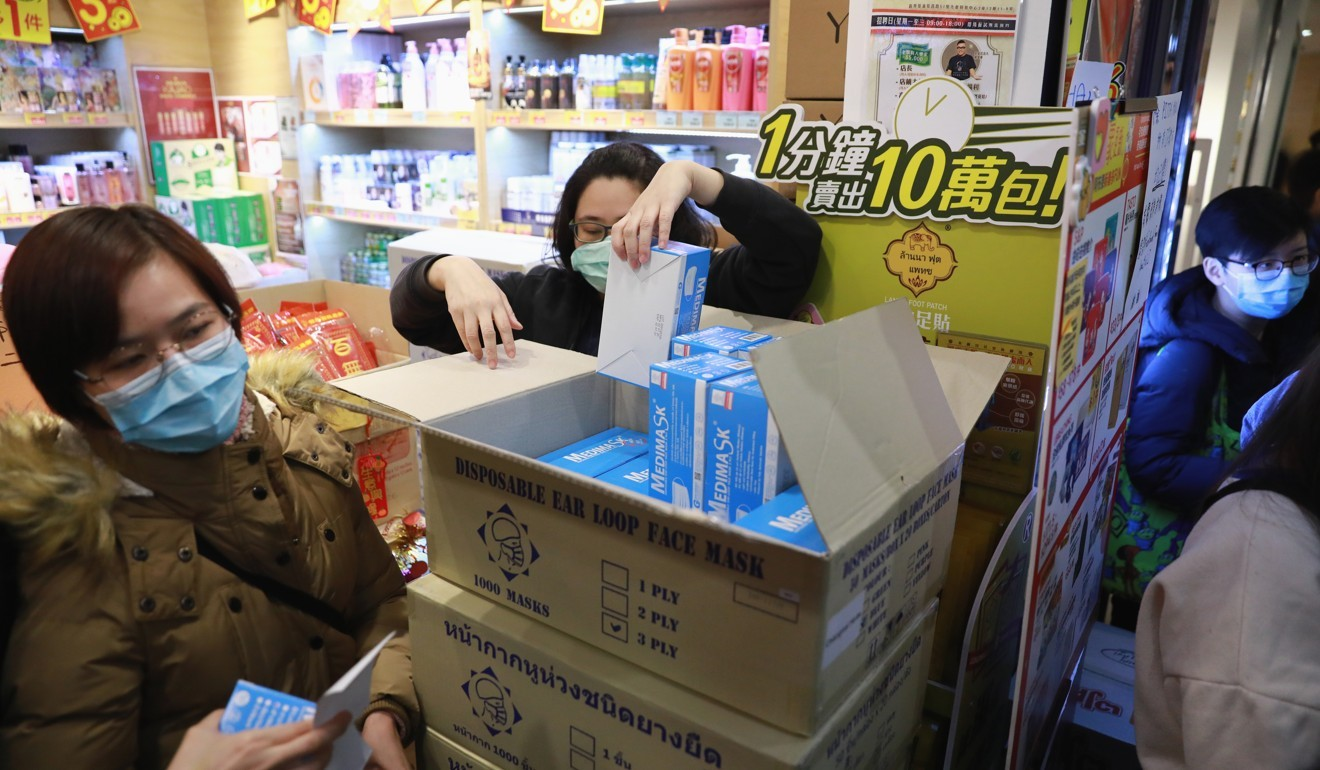 Coronavirus Prompt Protective Hong Recycled Fears China Of Masks