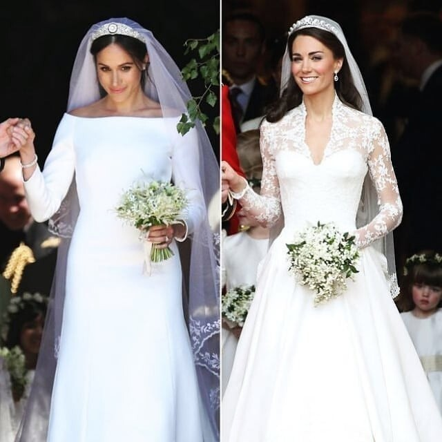 7 Tiaras Worn By Meghan Markle Kate Middleton And Other Royals On Their Wedding Day South China Morning Post