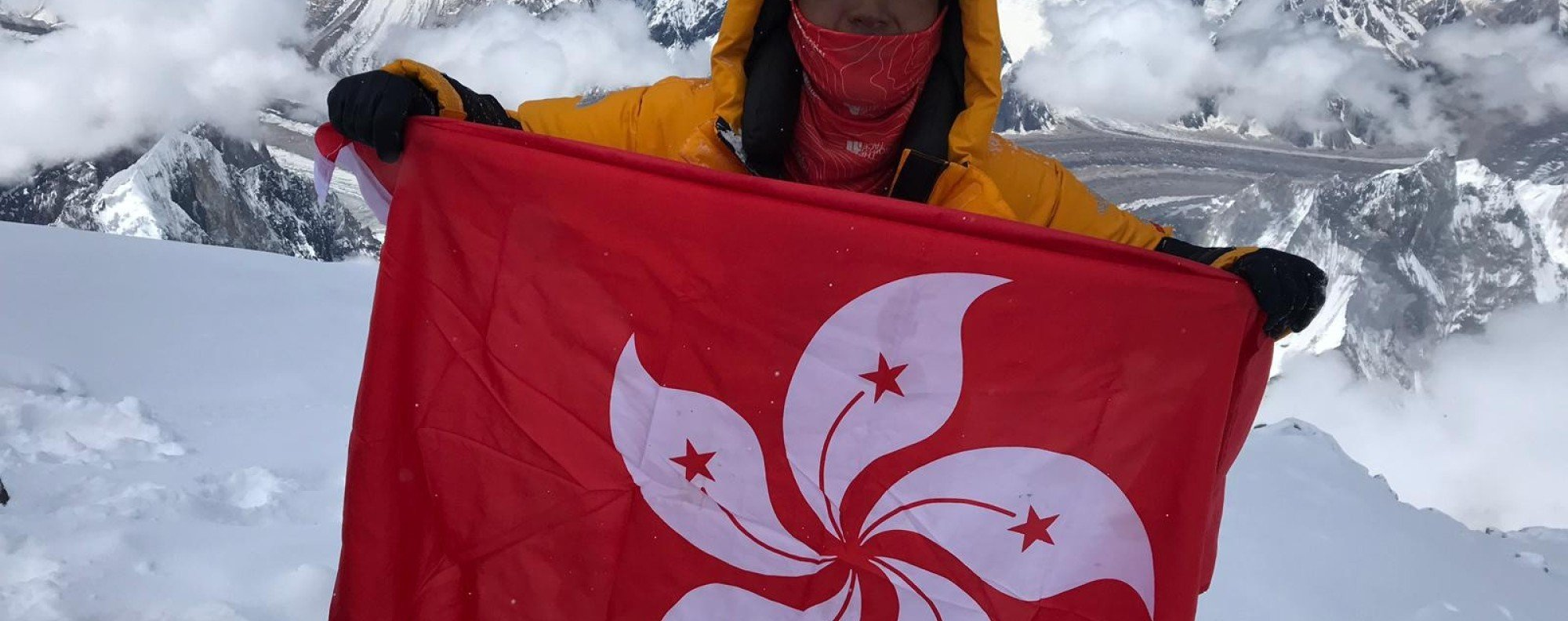 Benjamin Chan becomes the youngest person to climb Broad Peak without oxygen. He is the youngest Hongkonger to climb Everest too. Photo: Handout