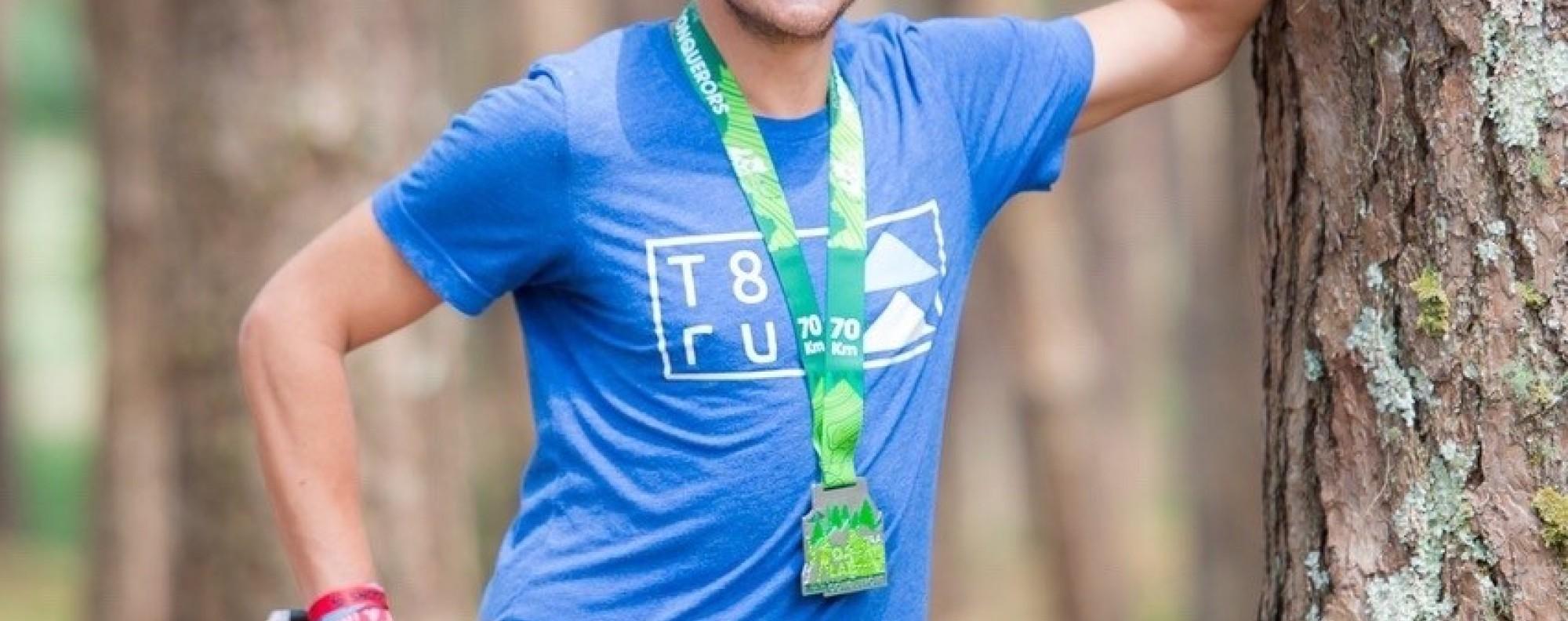 John Ellis is the 2019 Asia Trail Master champion. Photo: Asia Trail Master