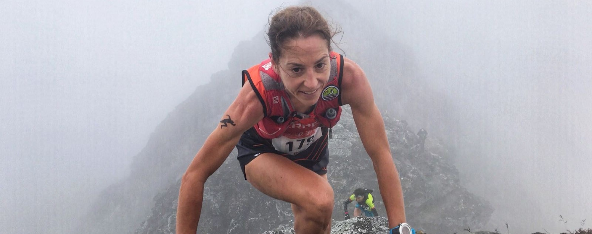 Ragna Debats and her family are travelling the world, running ultra-marathons on every continent. Photo: Migu Skyrunner World Series