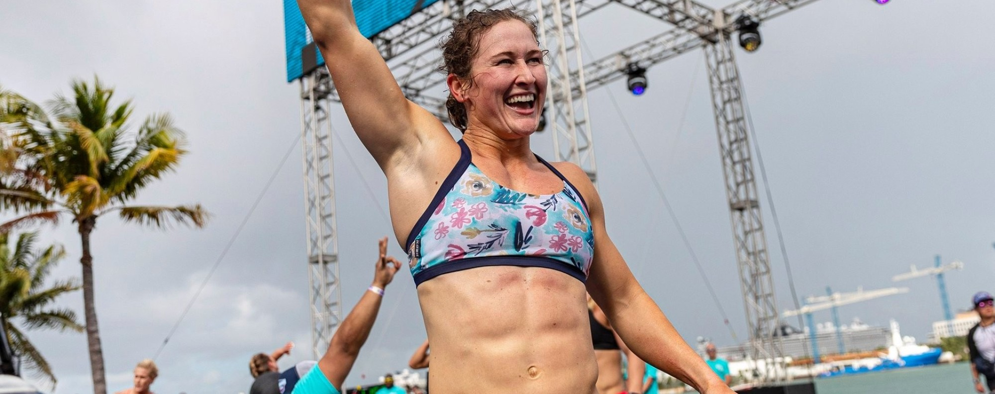 Tia-Clair Toomey showed why doubting her any more is a fool's errand. Photo: Wodapalooza