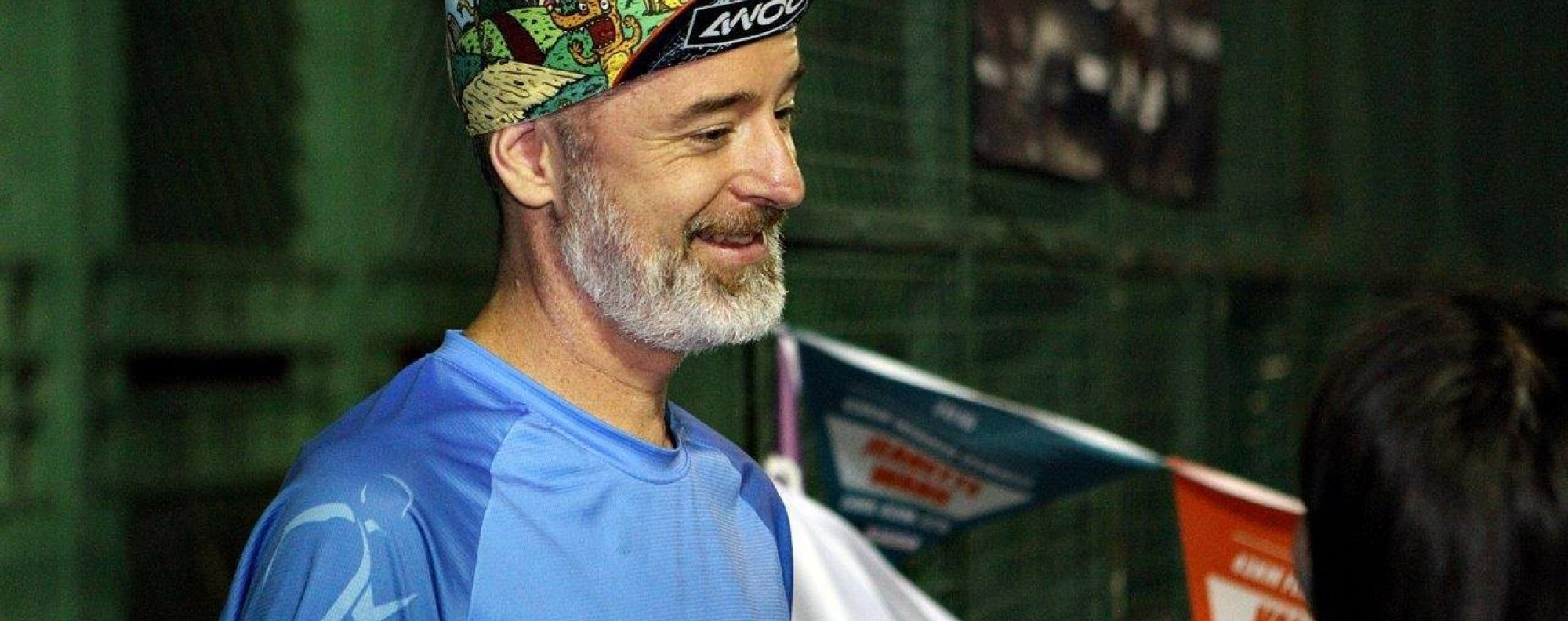 Nic Tinworth was more than just a race organiser. He was the centre of the trail running community. Photo: Handout