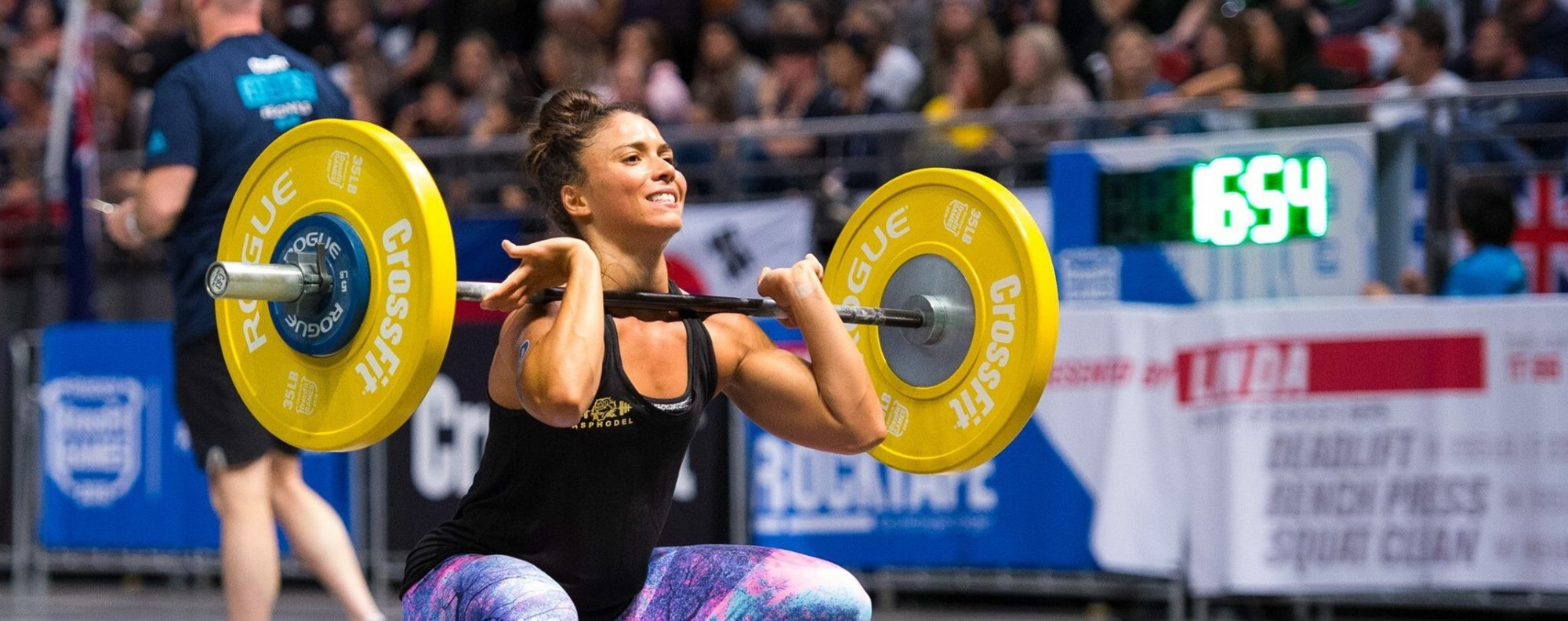 Victoria Campos at the CrossFit regional. She will be one of your coaches at Asphodel in Kennedy Town. Photo: CrossFit