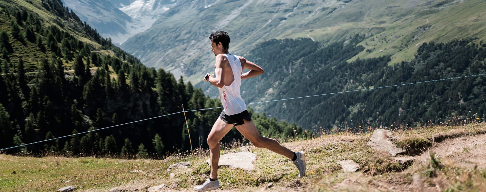 A young Kilian Jornet burst onto the trail scene and his rise is captured in 'Unbreakable'. Photo: Golden Trail Series