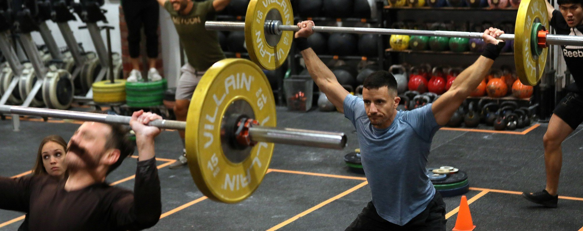 CrossFit gyms are struggling during coronavirus. Photo: Xiaomei Chen