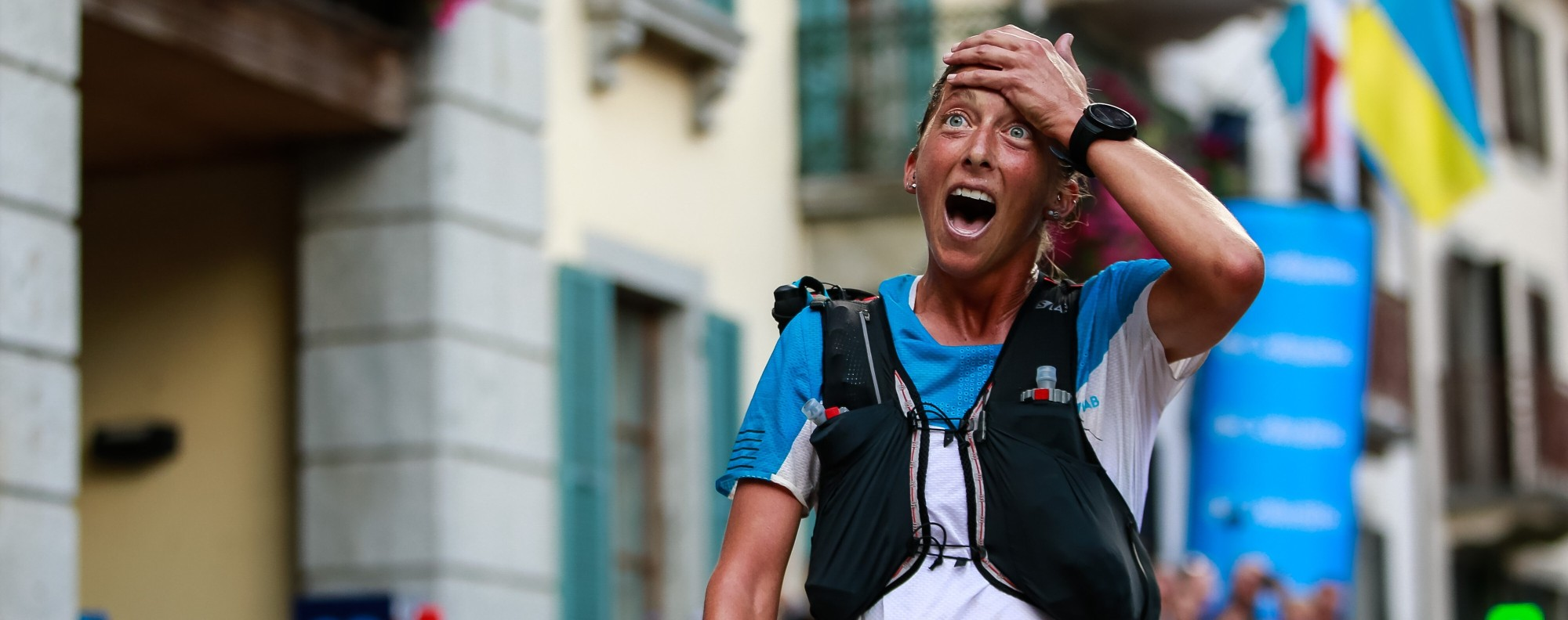 Courtney Dauwalter wins the UTMB by more than an hour. Photo: UTMB/Christophe Pallot