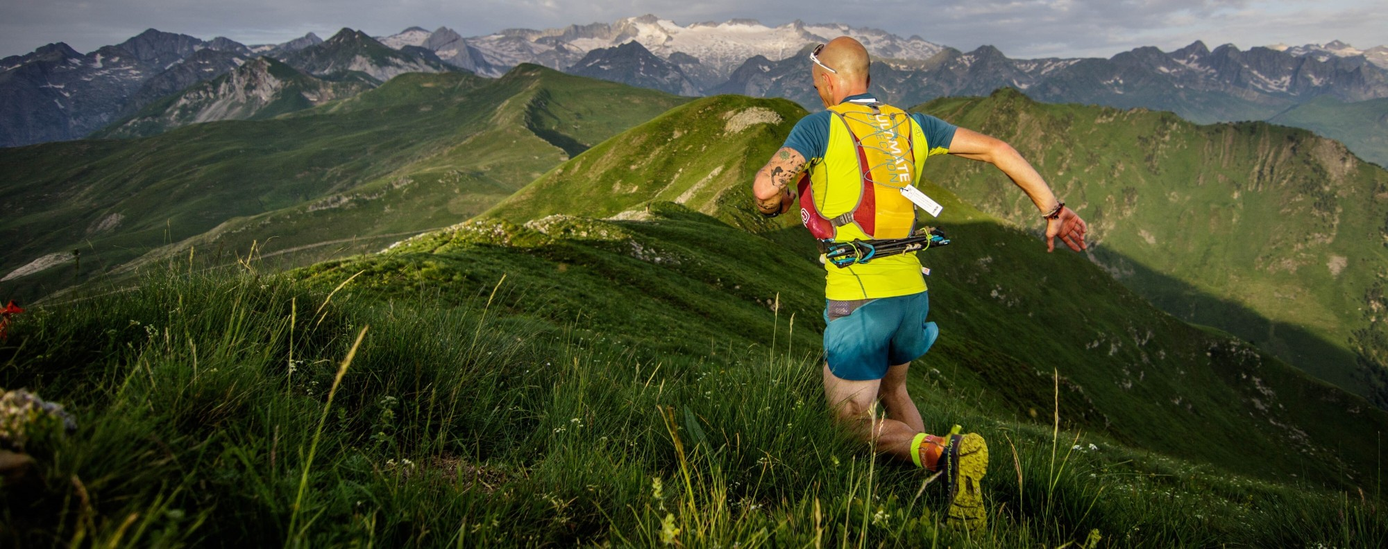 Running long distances is great, but time and intensity can cause back issues. Photo: UTMB