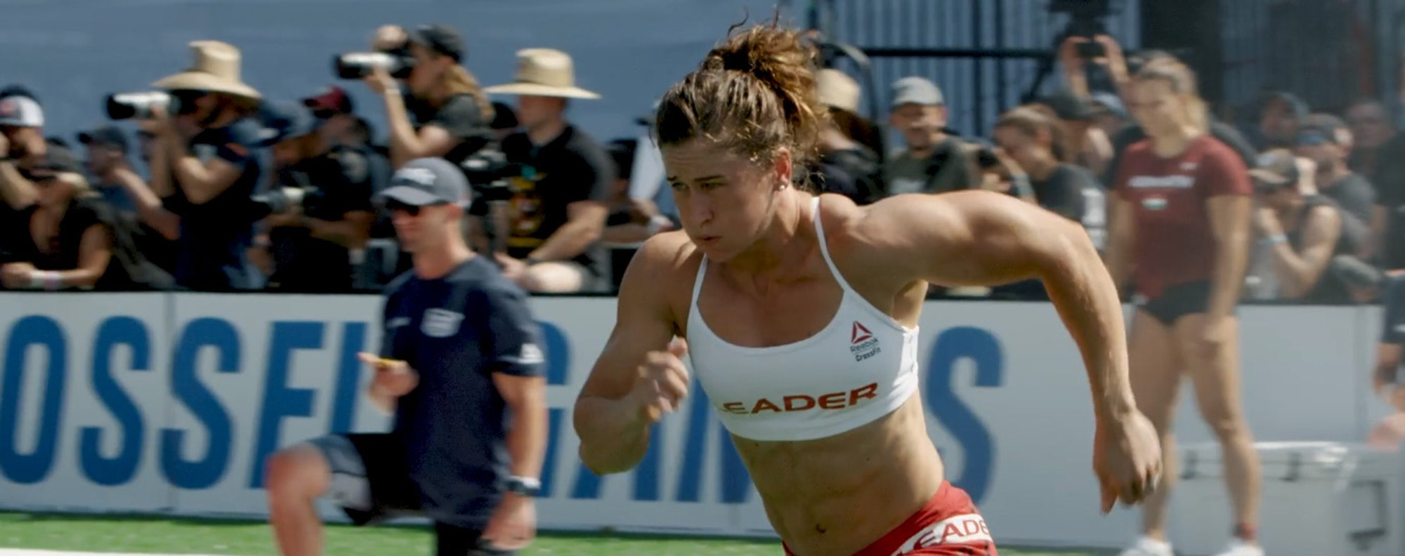 Tia-Clair Toomey, three times Fittest on Earth. Can she extend her winning streak to four? Photo: CrossFit Inc.