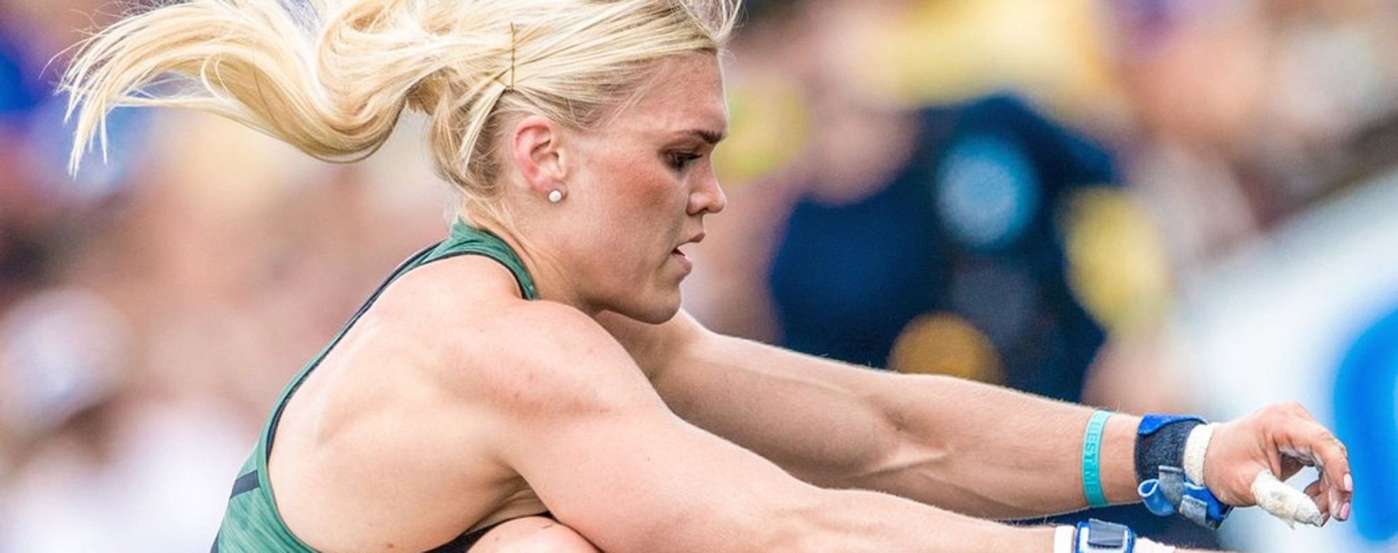 Katrin Davidsdottir says her 'moral compass' will not allow her to represent CrossFit. Photo: CrossFit Games