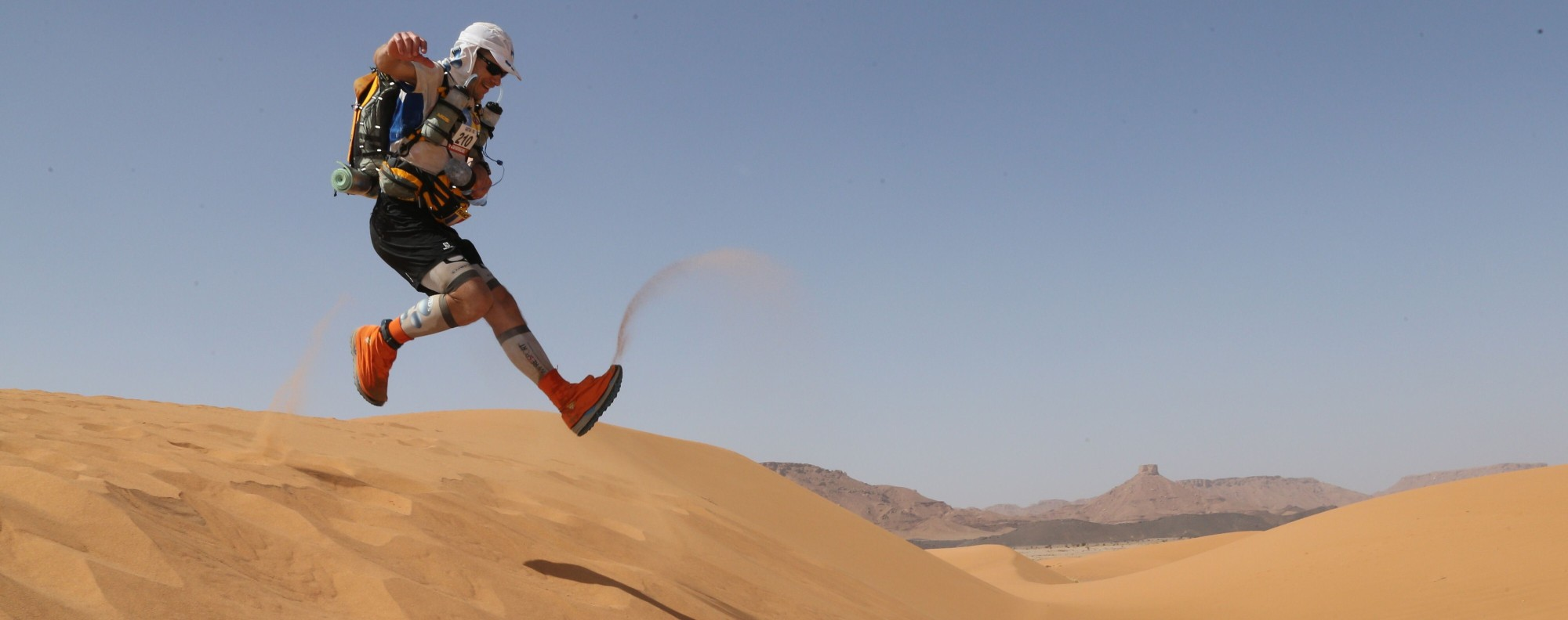 The Marathon des Sables is one of the most famous multi-day races in the world. Photo: AFP
