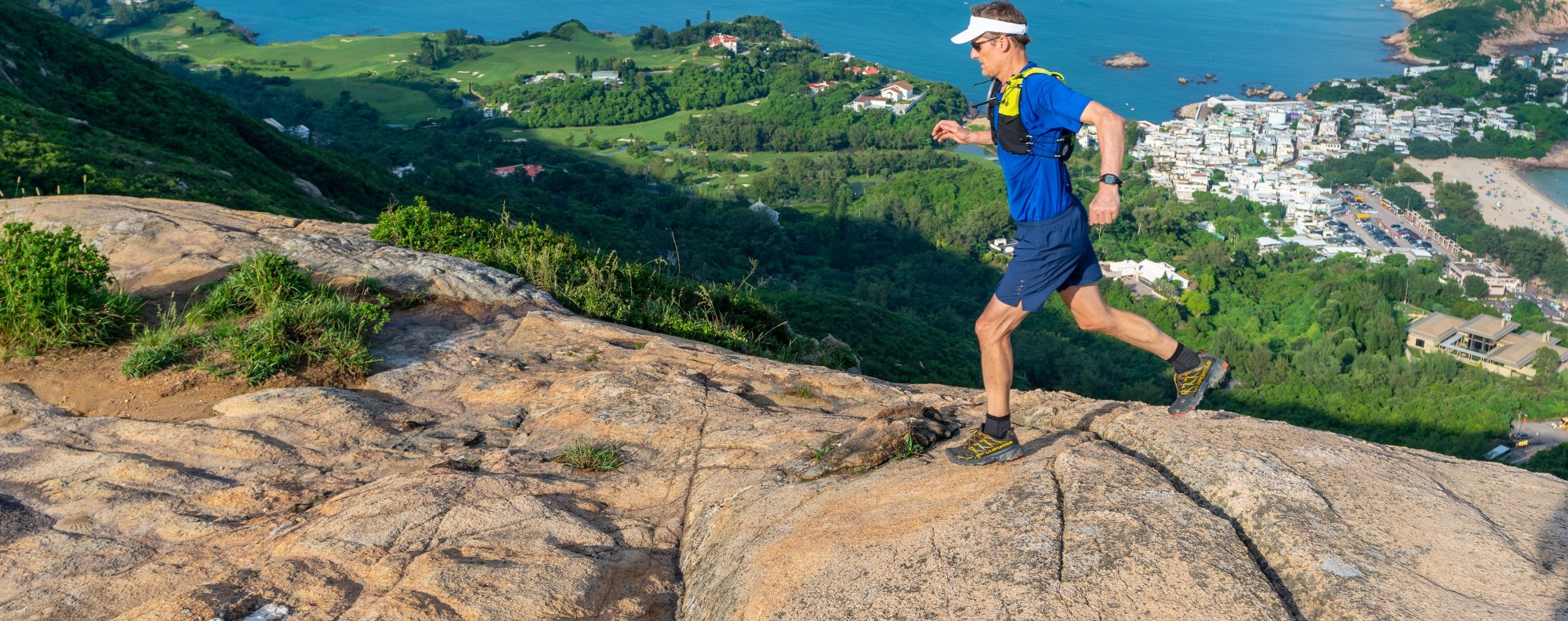 Mark Western runs 360km around Hong Kong, establishing a new route that could be Hong Kong's first Fastest Known Time trail. Photo: Handout