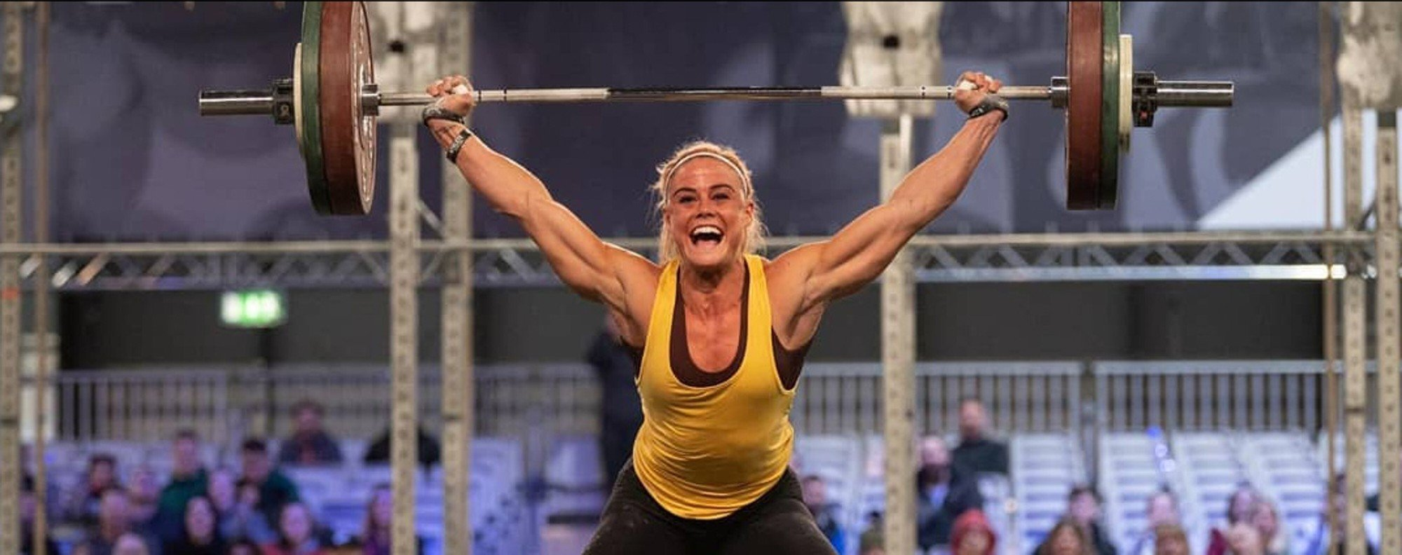 Sara Sigmundsdottir wins the Filthy 150, the perfect acclimatisation for pressure. Photo: Filthy 150 Instagram