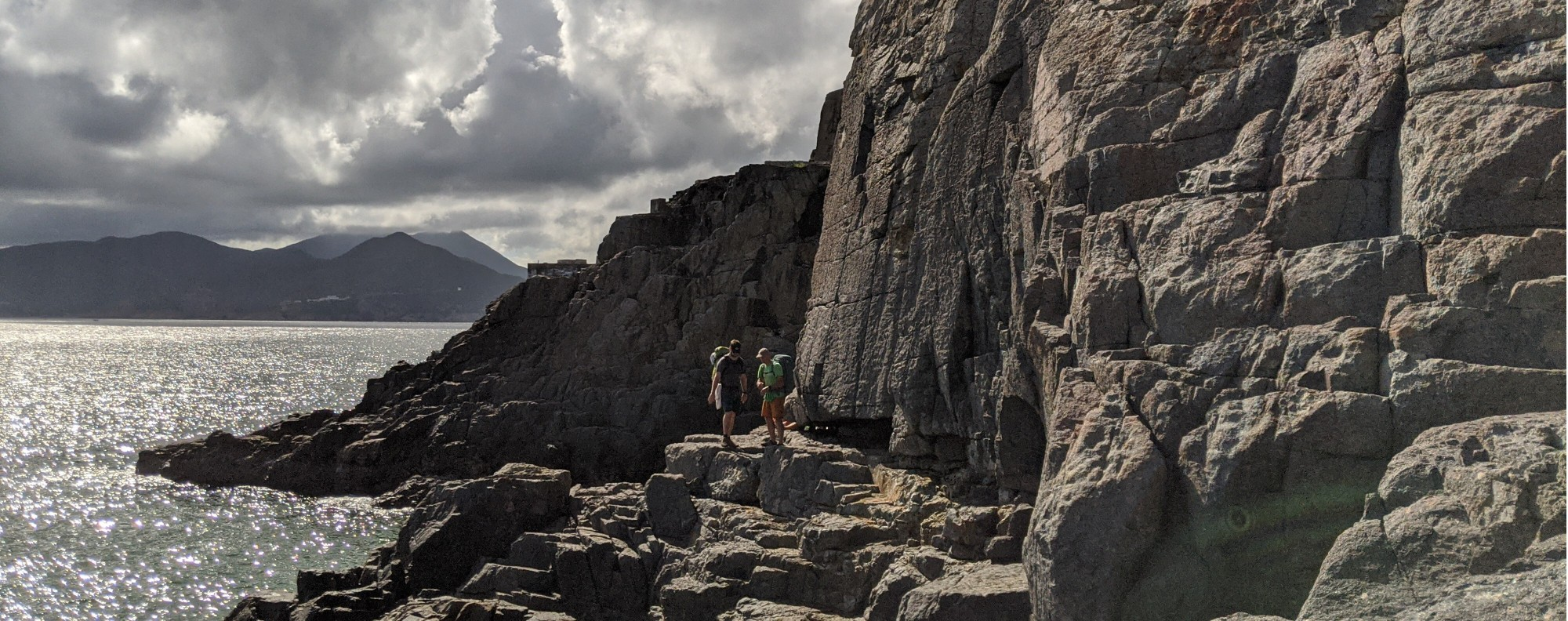 Climbers have developed six new crags on the south side of Tung Lung Island.