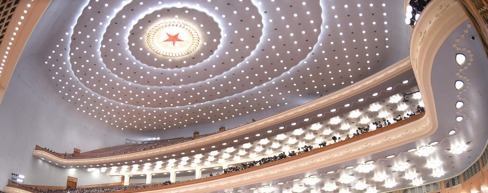 The Great Hall of the People in Beijing. Photo: Xinhua