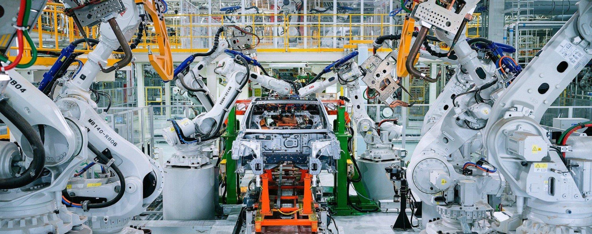 Car factory in Zhaoqing. Photo: SCMP