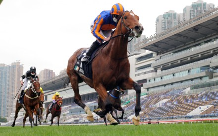 Mogul snares last year's Hong Kong Vase at Sha Tin. Photos: Kenneth Chan