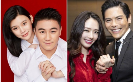 Mario Ho and Ming Xi, and Jacky Heung and Bea Hayden, are two couples who received some extravagant 'push presents' for having children. Photo: Mario Ho; Tiffany Chen/ Weibo