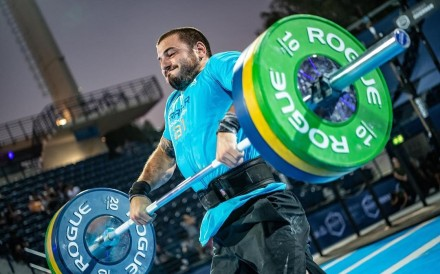 Mat Fraser competes in the CrossFit Games. He has, unofficially, won the CrossFit Open. Photo: CrossFit