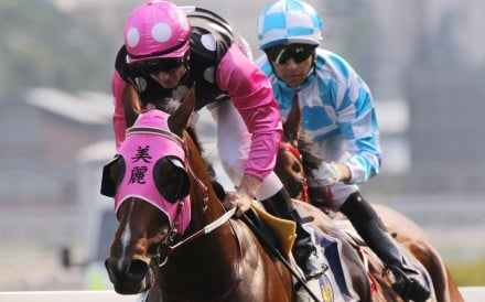 Zac Purton cruises to victory on Beauty Generation in the Group Two Chairman's Trophy (1,600m) at Sha Tin on Sunday.