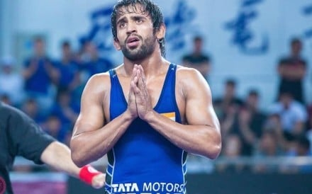 Indian wrestler Pajrang Punia is set to compete at the iconic Madison Square Garden for the first time. Photo: Twitter
