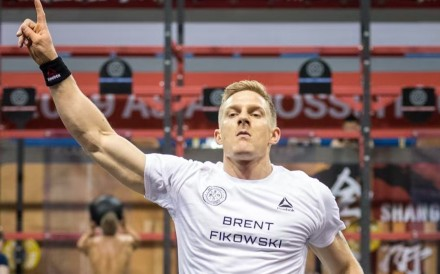 Brent Fikowski leads the men after day one at the Asia CrossFit Championship. Photo: Asia CrossFit Championship