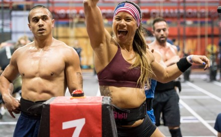 Chyna Cho said it's been cool to be an Asian-American CrossFit athlete competing in China. Photo: Shaun Cleary