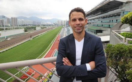 Jockey Aldo Domeyer at Sha Tin on Tuesday. Photos: Kenneth Chan