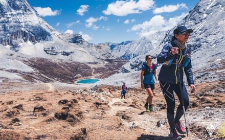 Ruth Croft in Yading. Photo: Migu Run Skyrunning World Series