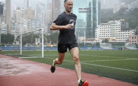 Sports reporter Patrick Blennerhassett is starting training for the 2020 Hong Kong Marathon. Photo: Edward Wong