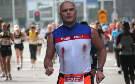 Bleeding nipples can be a serious issue for runners during long-distance races. Photo: Handout