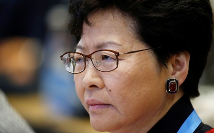 Hong Kong Chief Executive Carrie Lam has held firm on passing the extradition bill, which would enable Hong Kong to transfer fugitives to jurisdictions including mainland China. Photo: Reuters