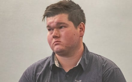 Fraser Milne appears in the Auckland High Court. Photo: New Zealand Herald