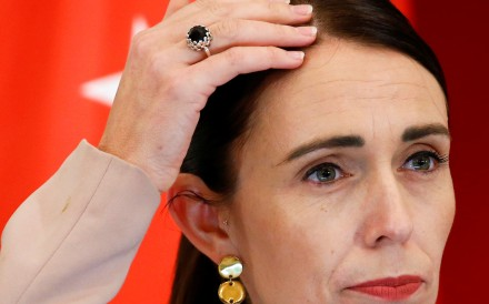 New Zealand's Prime Minister Jacinda Ardern, whose 'well-being' budget has been under attack by hackers. Photo: Reuters