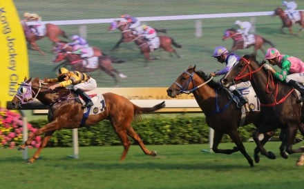 Team Spirit wins comfortably at Sha Tin earlier this month. Photos: Kenneth Chan