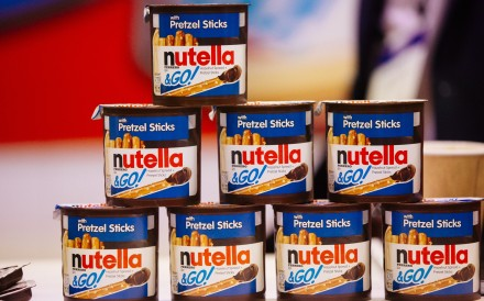 Nutella brand Go! snacks on display at an expo in Chicago. Photo: Bloomberg