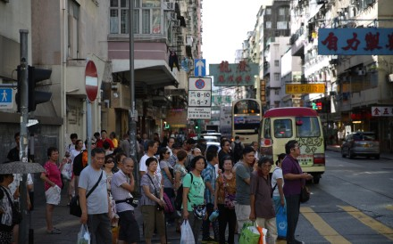 A street in Sham Shui Po, one of Hong Kong's oldest districts, where the district council has slammed a pedestrian-friendly plan to cut speed limits as 'unrealistic'. Photo: Handout