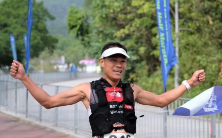 Wong Ho-chung wins the local qualifier to represent Hong Kong at the World Championship. Photo: HKAAA