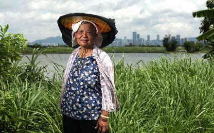 Fung Heung-lan, 70, a fish farmer in Tai Sang Wai, Yuen Long has been nominated for a Spirit of Hong Kong Spirit of Culture Award. Photo: Xiaomei Chen