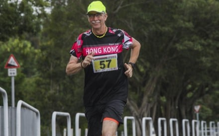 Michael Cartwright, 60, a veteran of the Hong Kong Police Force who retired in 2014, has run nearly 200 marathons in 30 countries in 13 years. Photo: K. Y. Cheng