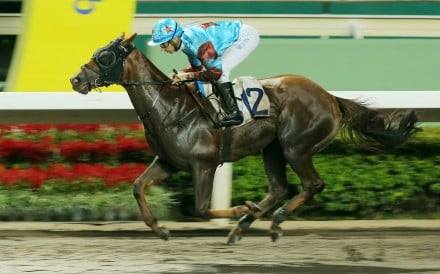 Fame And Fortune coasts to victory at Sha Tin on Wednesday night. Photos: Kenneth Chan