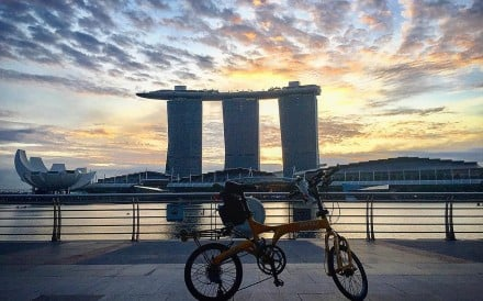 While it's a beautiful and safe place to cycle, Singapore recently introduced legislation which can make cycling in the city more challenging. Be mindful too of Singapore's tropical climate. Photo: Instagram