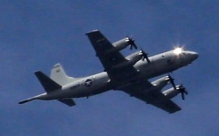 US P-3 Orion. Photo: AFP