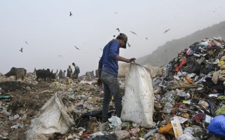 Pictures of pollution, waste plastic and environmental problems can trigger a condition known as eco-anxiety. Photo: James Wendlinger